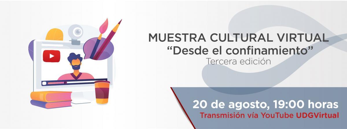 Muestra Cultural Virtual 20 de agosto 19 horas