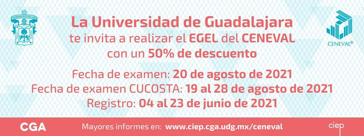 Examen Ceneval, la UdeG te apoyará con 50% de descuento, ¡regístrate!